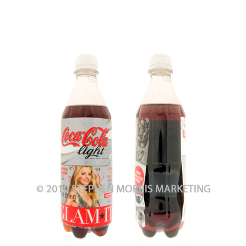 Coca-Cola Light Bottle. Product Code B11-0