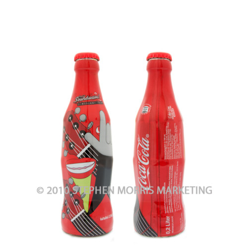 Coca-Cola Bottle 2007. Product Code D3-0