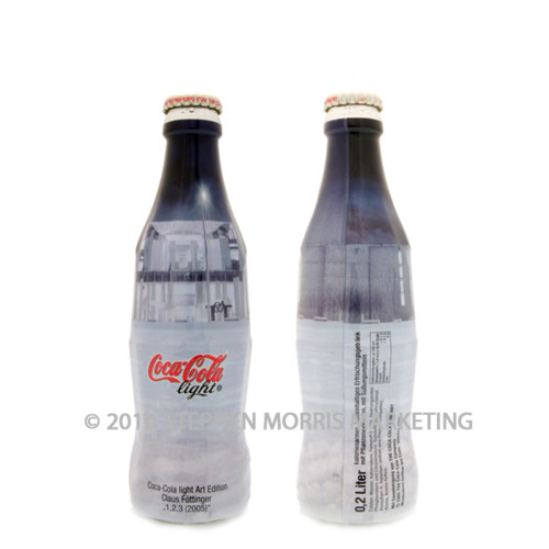 Coca-Cola Bottle 2005. Product Code D105-0