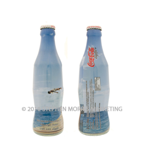 Coca-Cola Light Bottle 2006. Product Code D1A-0