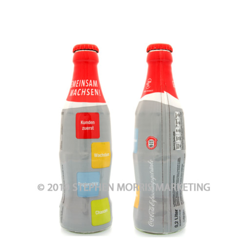 Coca-Cola Bottle 2007. Product Code D109-0