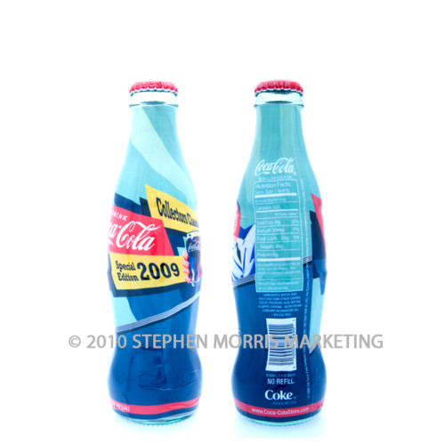 Coca-Cola Bottle 2009. Product Code A200-0