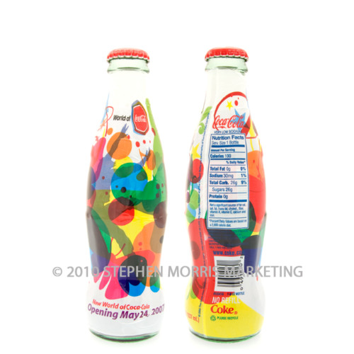 Coca-Cola Bottle 2007. Product Code A285-0