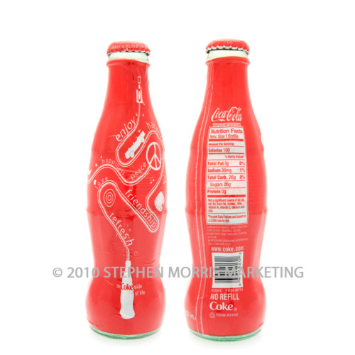 Coca-Cola Bottle 2006. Product Code A290-0