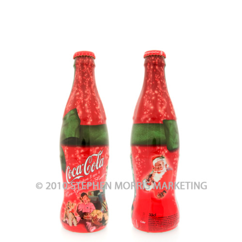 Coca-Cola Christmas Bottle 2003. Product Code SD100-0