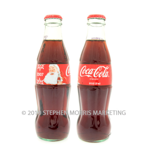 Coca-Cola Classic Bottle 2007. Product Code A347-0