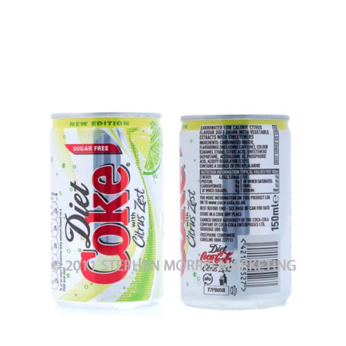 Aluminium Diet Coke. Product Code C12-0