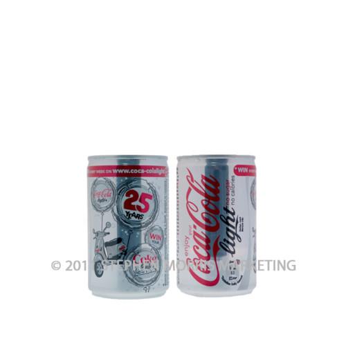 Aluminium Coca-cola light can. Product Code N6-0