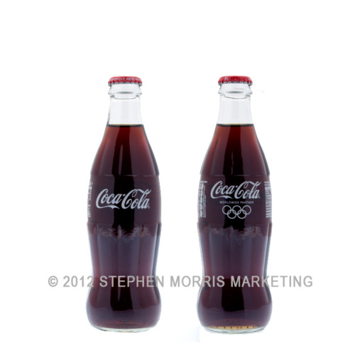 Coca-Cola Olympics Bottle 2012. Product Code CCC-0001-0