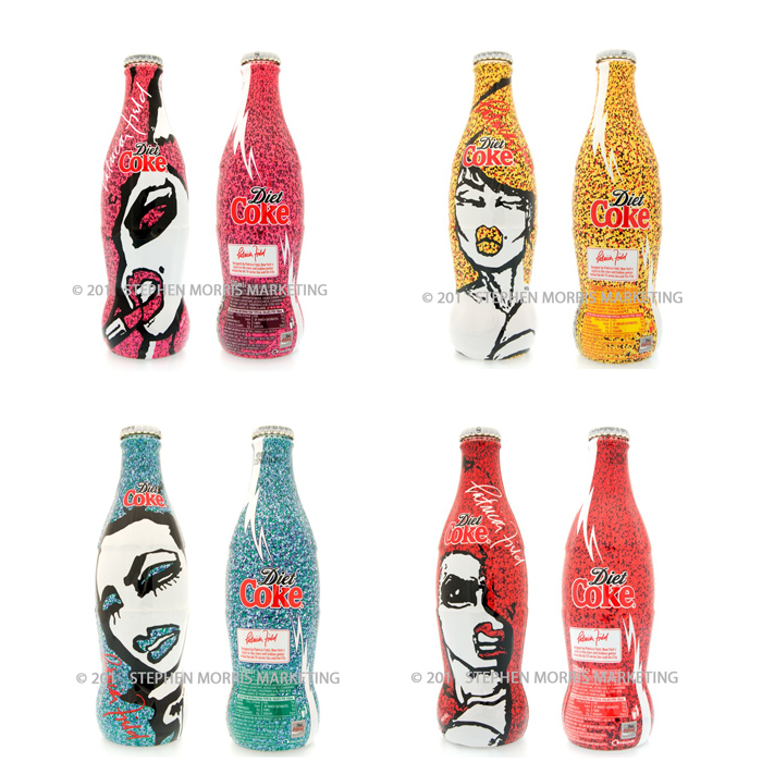 Coca cola sex the city bottles