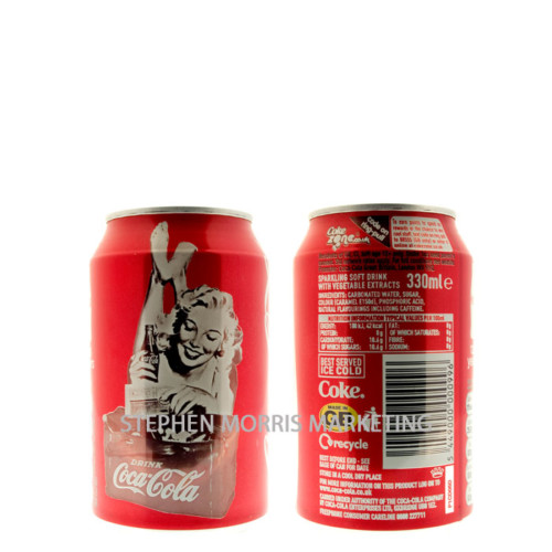 Coca-Coca UK - 125yrs can. Product Code CCC-0005-0