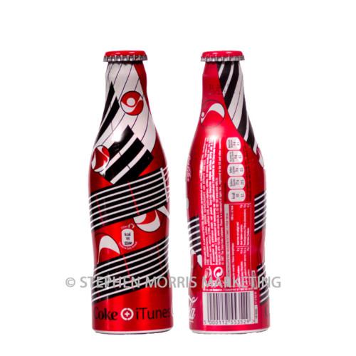 Belgian iTunes regular Coca-Cola bottle. Product Code CCC-0022-0