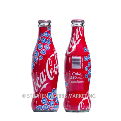 Turkish glass Migros Supermarkets bottle. Product Code CCC-0034-0