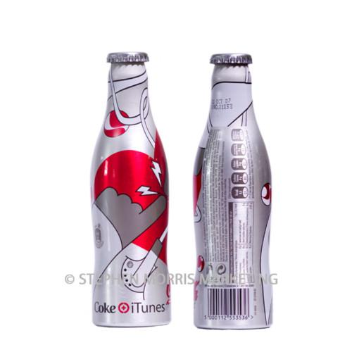 Belgian Coca-Cola 'light' aluminium bottle. Product Code CCC-0041-0