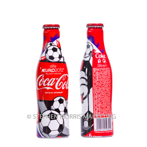 Euro2012 aluminium bottle. Product Code CCC-0046-0