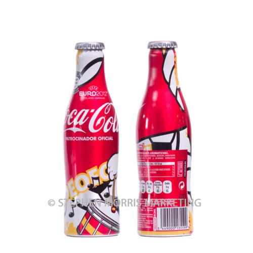 Spanish aluminium Euro2012 bottle #2. Product Code CCC-0055-0