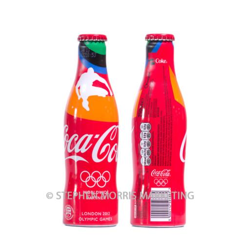 UK Olympics 2012 'athletics' aluminium bottle.Product Code CCC-0058-0