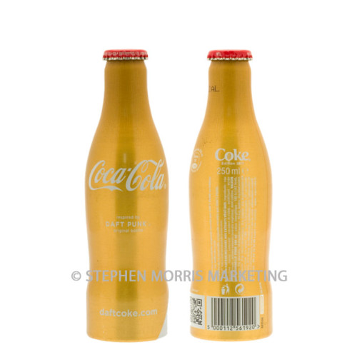 French TRIAL 'Daft Punk' aluminium bottle 2011. Product Code CCC-0066-0