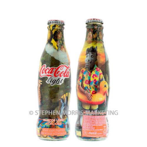 Coca-Cola Light Argentina 2013 - 'Cordoma' - Product Code CCC-0107-0