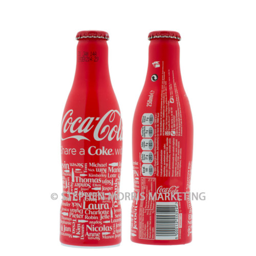 Coca-Cola Belgium 2013 - 'Share a Coke with - Product Code CCC-0119-0