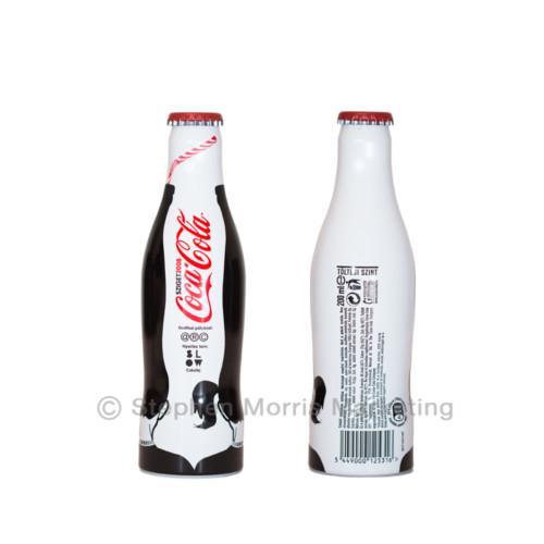 Coca-Cola Hungary Aluminium 'Sziget' Bottle 2008-Product Code CCC-0126-0