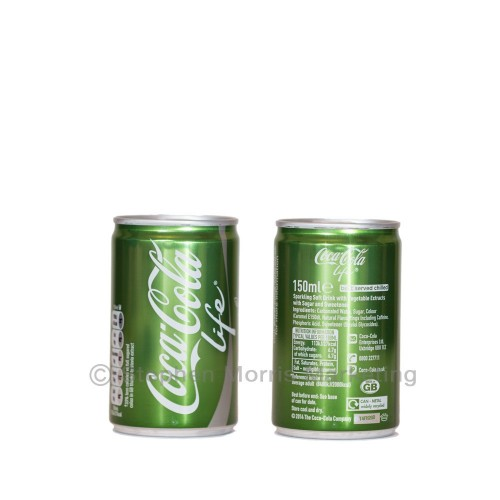 Coca-Cola Life UK sample can released September 2014.