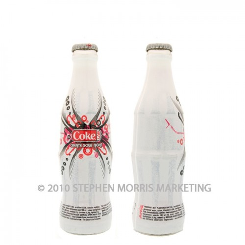 Coca-Cola Collectibles 'Create Your Night Promotion' Bottle - 2004