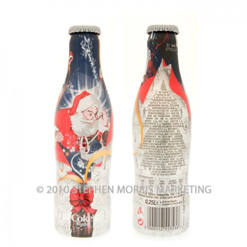 Coca-Cola Christmas Bottle - 2007