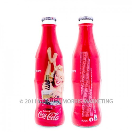 Coca-Cola Collectibles Blonde Lady Bottle - 2011
