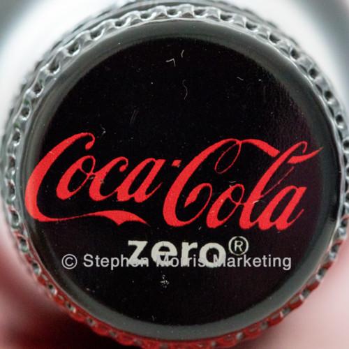 Disneyland Paris Coca-Cola Zero bottle FIRST EDITION 2017