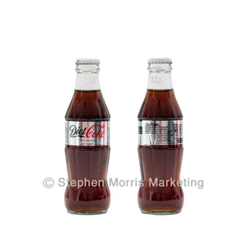 UK Diet Coke Restaurant bottle 2014